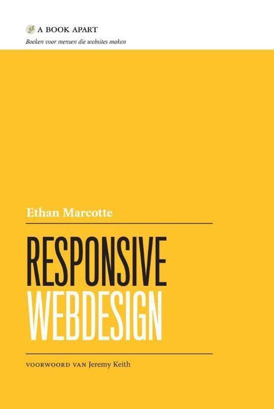 Cover van het boek 'Responsive webdesign'