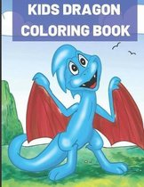 Kids Dragon Coloring Book