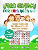 Word Search For Kids Ages 6-8