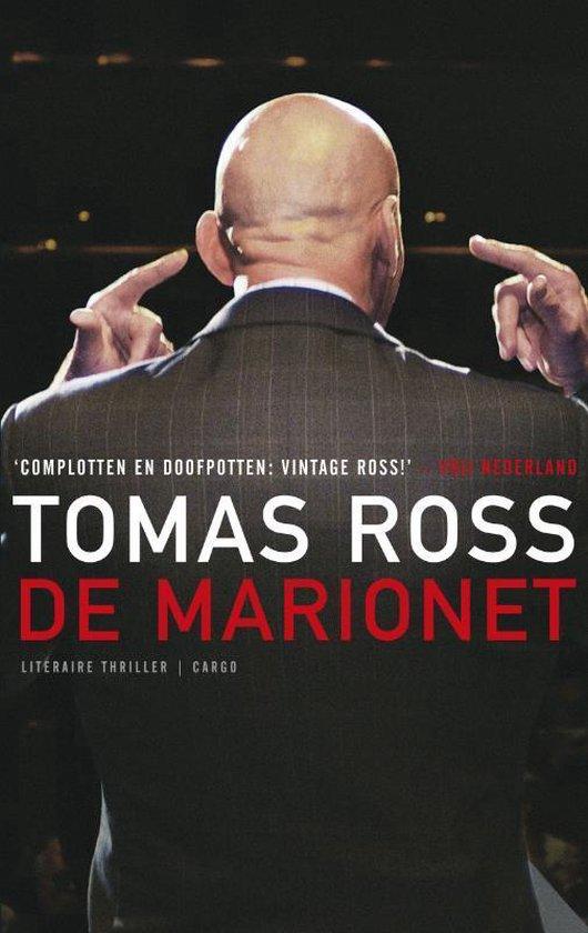 Cover van het boek 'De marionet' van Tomas Ross
