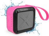 Nikkei BOXX1PK Waterbestendige Bluetooth speaker - Roze