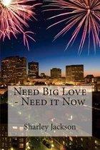 Need Big Love - Need It Now