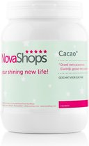 Novashops Afvallen met eiwitdieet proteïne shakes | Cacao Afslankshake (17 porties)