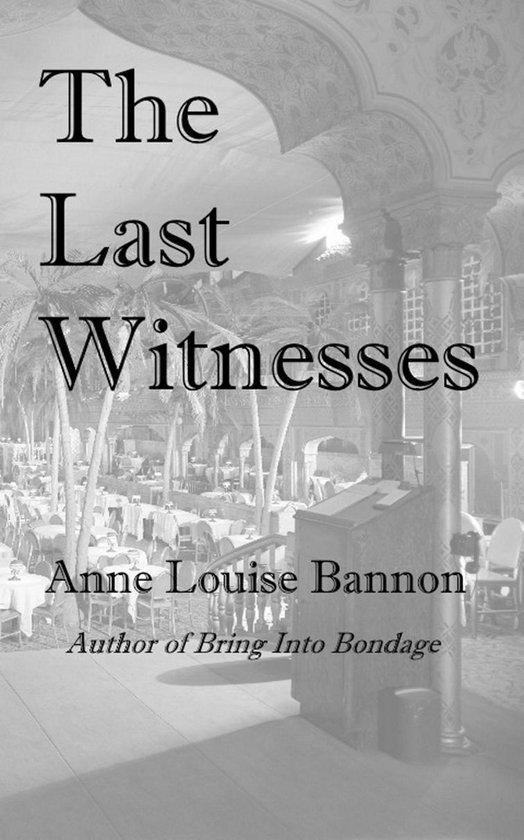 Omslag van The Last Witnesses