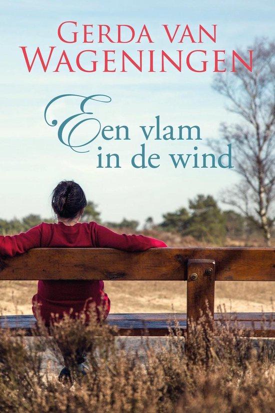 Boek cover Een vlam in de wind van Gerda van Wageningen (Onbekend)