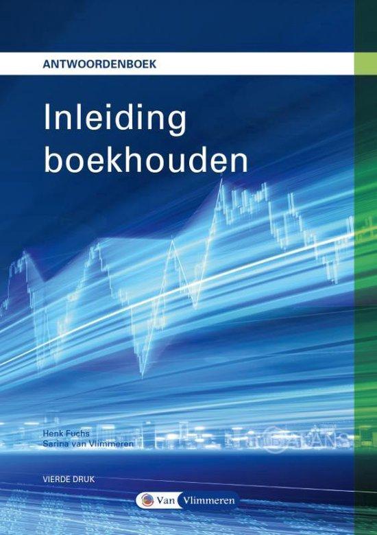 Boek cover Inleiding Boekhouden van Henk Fuchs (Paperback)