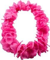 Hawai krans neon roze