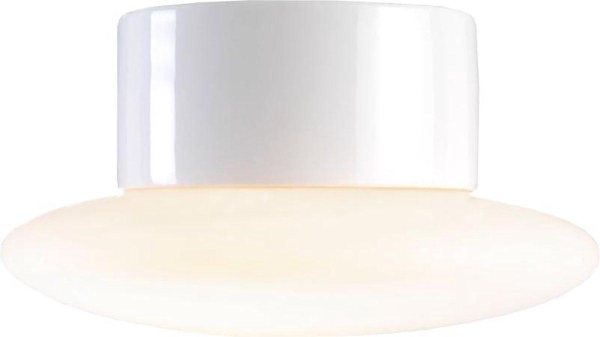 Ifö Electric Aton Caïro Plafond en Wandlamp Porselein Wit IP44 LED 3000K