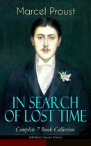 Boek cover IN SEARCH OF LOST TIME - Complete 7 Book Collection (Modern Classics Series) van Marcel Proust