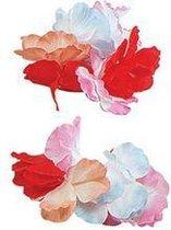 Hawaii bloemen armbanden set van 2