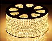 LED lichtslang warmwit op maat | 230V AC - 7W - 60 LED's/m | waterdicht IP65 | per 2 meter