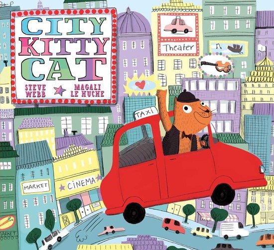 Boek cover City Kitty Cat van Steve Webb (Onbekend)