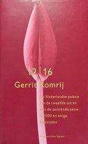 Omslag Nederlandse Poezie 12De - 16De Eeuw Pap