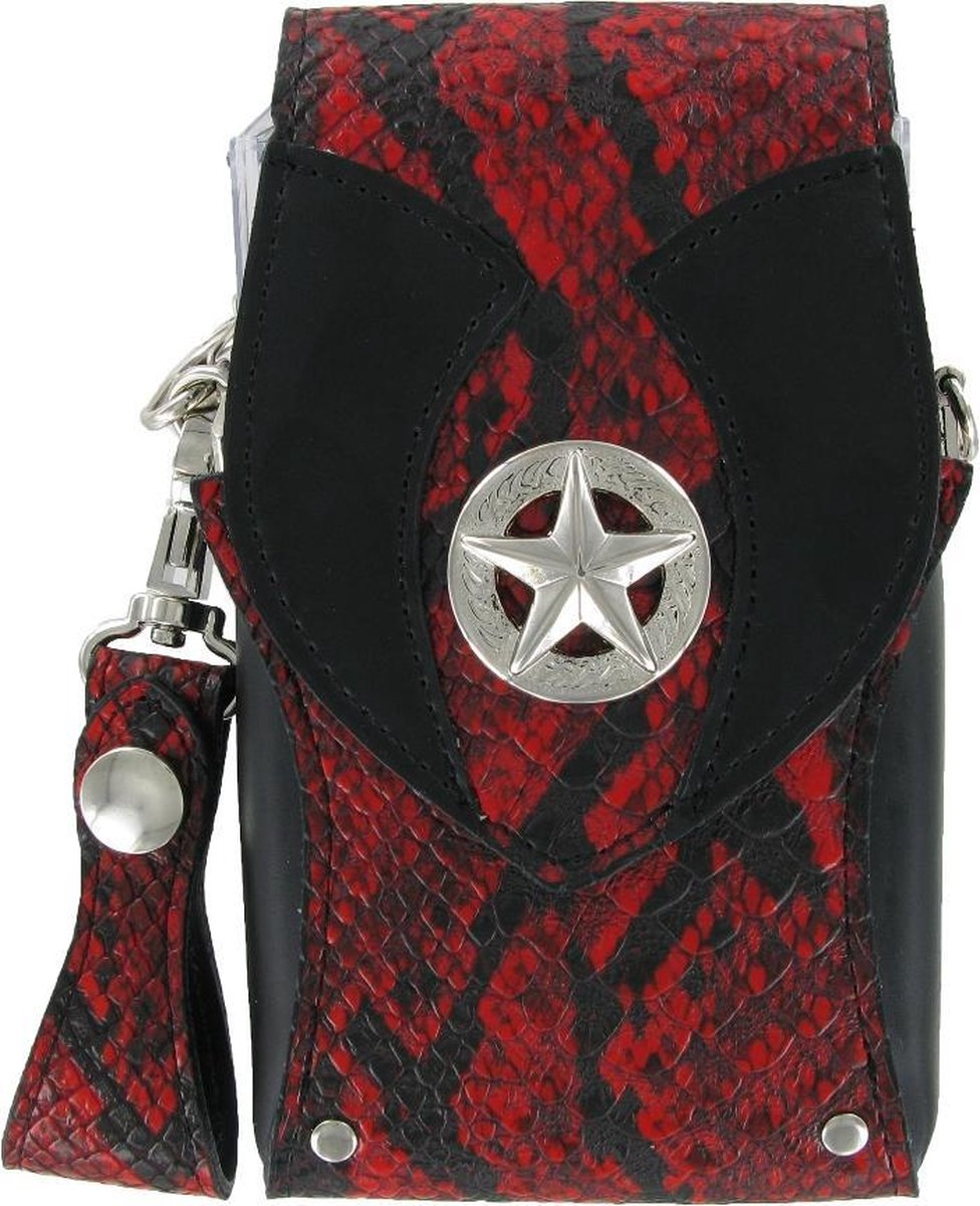 Bull's Hatch Pak Snakeskin Red Dartcase