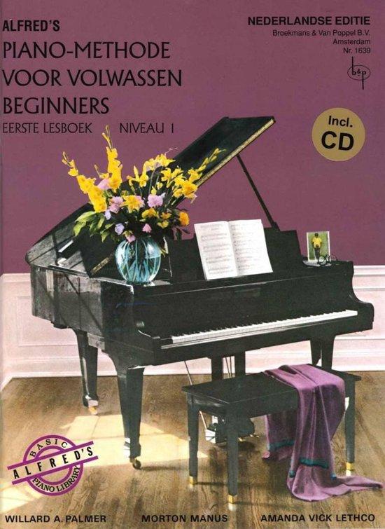Boek cover Alfreds Piano Methode voor Volwassen Beginners  Niveau 1 (Nederlandse vertaling) (Boek met Cd!) van Willard A. Palmer / Morton Manus (Onbekend)