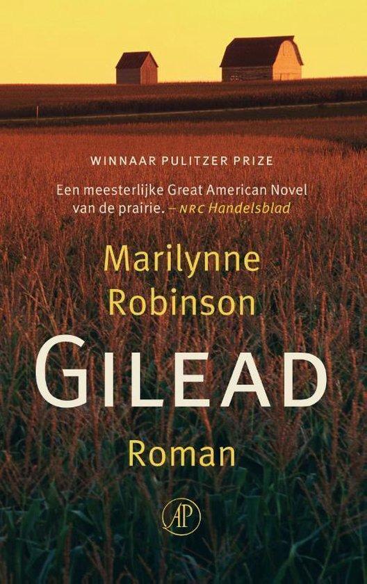 Boek cover Gilead van Marilynne Robinson (Onbekend)