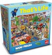 Puzzel that's life verkeersontstop
