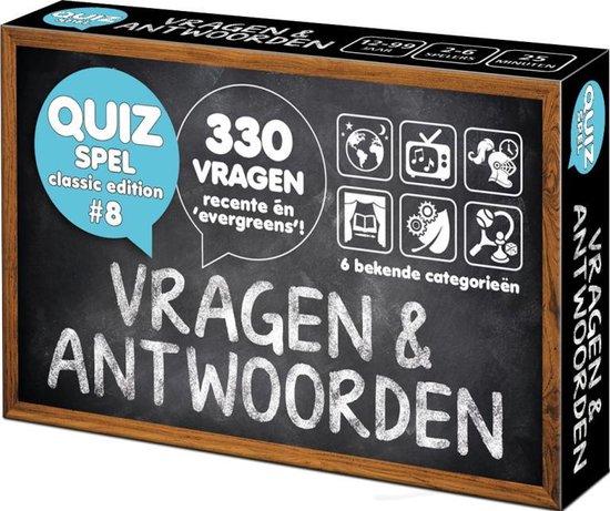 Afbeelding van het spel Vragen & Antwoorden #8 - Trivia Quiz en Aanvulset