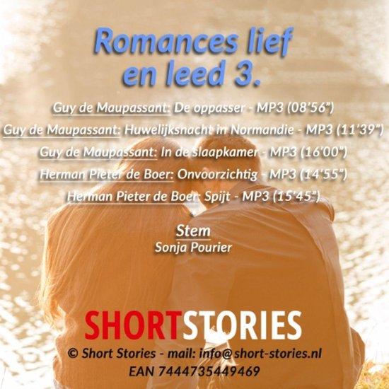 Romances lief en leed 3 - Guy de Maupassant pdf epub