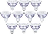 10 stuks - Philips LED MR16 5.5-35W/827 GU5.3 36D Dimbaar 450lm