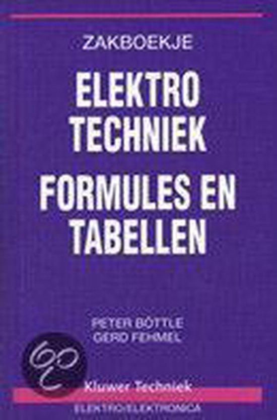 Zakboekje elektrotechniek - Peter BÖTtle |