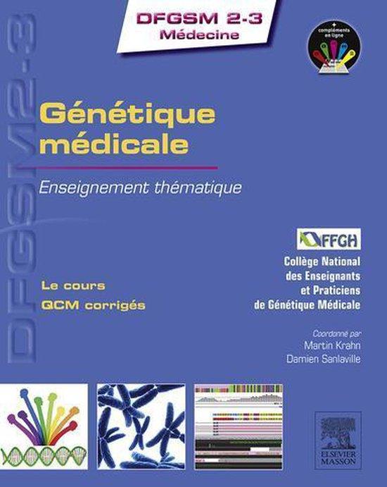 Boek cover Génétique médicale van College National Des Enseignants (Onbekend)
