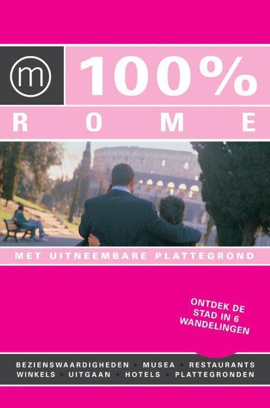 Cover van het boek '100% Rome' van Sofie Demuynk