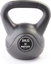 Matchu Sports - Kettlebell - 8 kg - Zwart