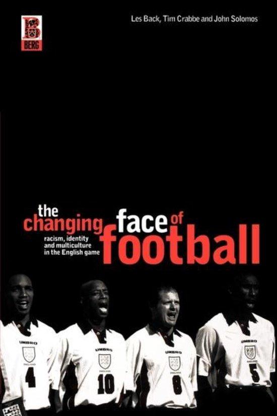 Boek cover The Changing Face of Football van John Solomos (Paperback)