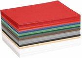 Kerst karton, A6 10,5x15 cm, kleuren assorti, 300 assorti vel