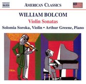Bolcom: Violin Sonatas Nos. 1-