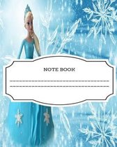 Note Book - 100 Sheets (Frozen Theme)