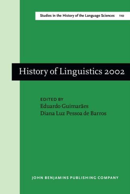 History of Linguistics 2002