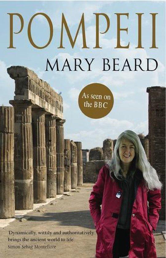 Boek cover Pompeii van Professor Mary Beard (Onbekend)