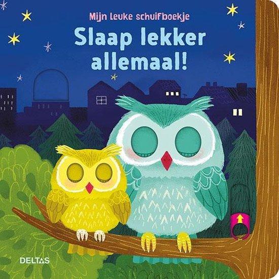 Mijn leuke schuifboekje, Slaap lekker allemaal! - none |