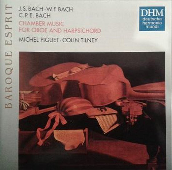J.S. Bach, W.F. Bach, C.P.E. Bach: Chamber Music for Oboe and Harpsichord