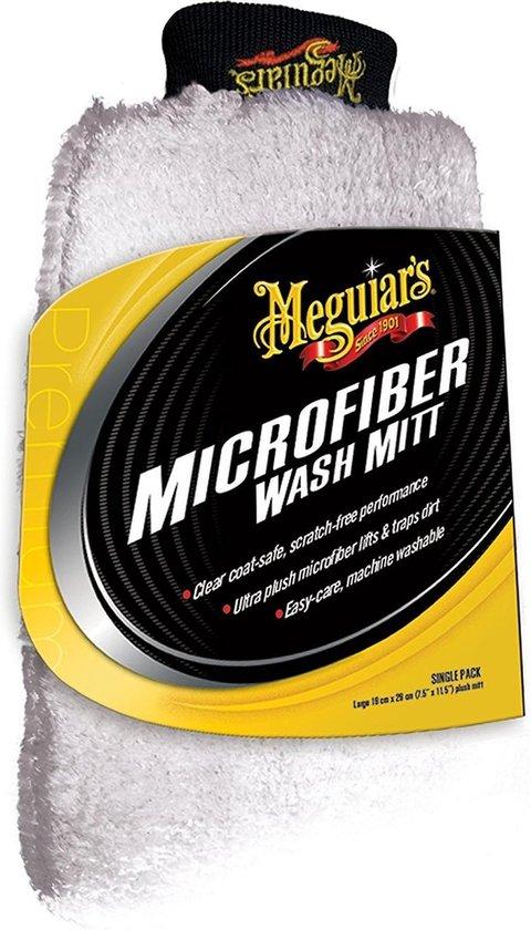 Meguiars X3002 Ultimate microvezel washandschoen - Microvezeldoek