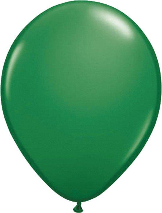 Groene ballonnen 30cm 100 stuks