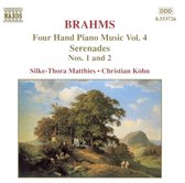 Brahms:Four Hand Piano Music 4