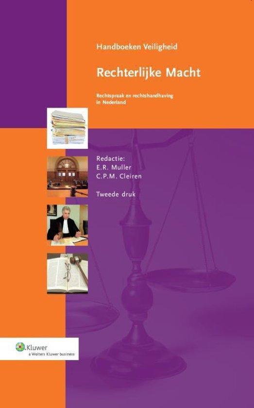 Handboeken Veiligheid - Rechterlijke macht - E.R. Muller pdf epub
