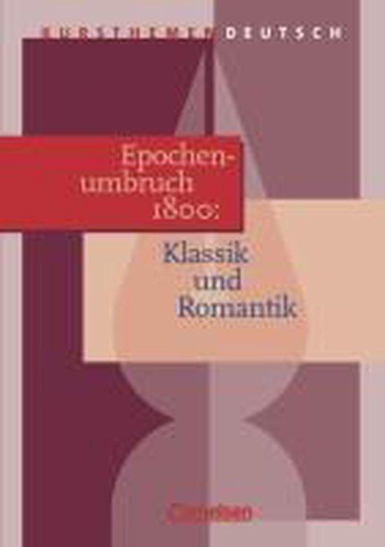 Boek cover Kursthemen Deutsch. Epochenumbruch 1800 van Hartmut Kasper (Paperback)