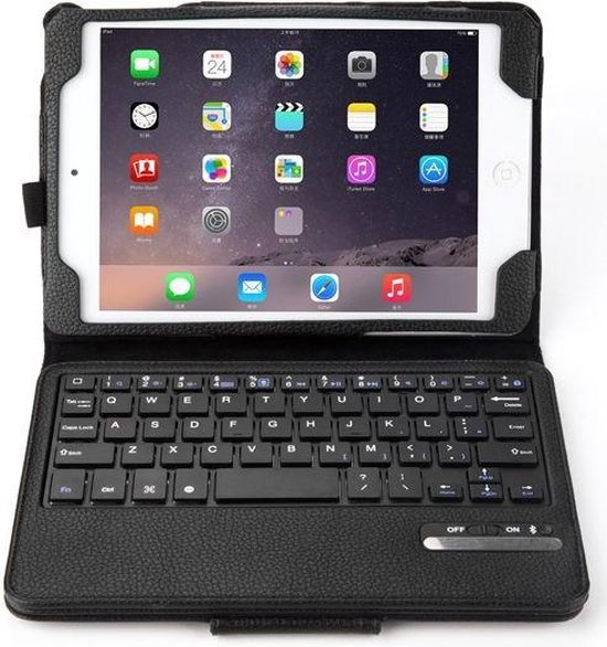 | Apple iPad Mini 4 Bluetooth 3.0 Keyboard Case Zwart
