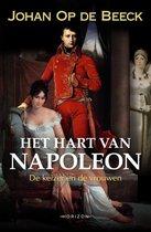 Boek cover Het hart van Napoleon van Johan op de Beeck