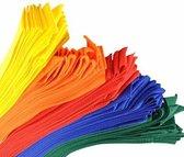 Partijlinten - Partijlint - Partijlintjes set van 10 stuks rood