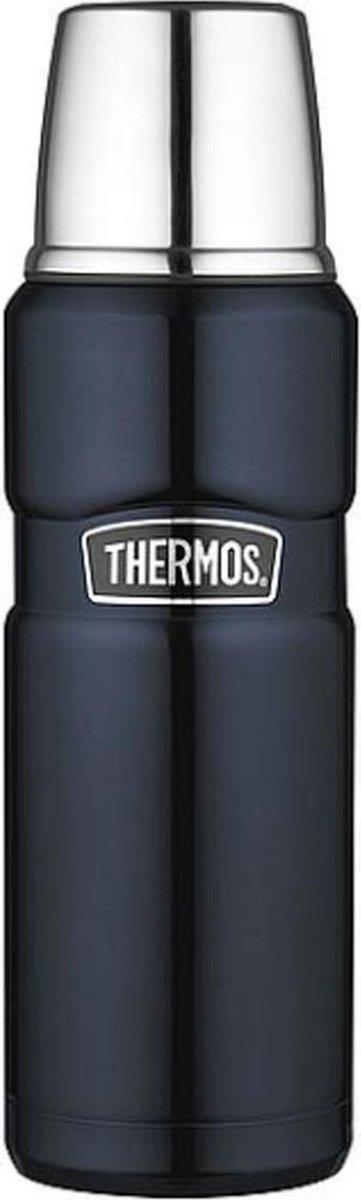 Thermos Isoleerfles - 1,2 Liter - Zwart