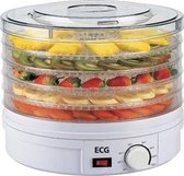 Electro Center - SO 375WH - fruitdroger - voedseldroger - 5 trays - WIT
