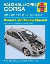 Vauxhall/Opel Corsa Petrol & Diesel ('11-'14) 60 To 64