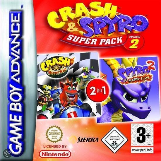 2-Pack - Crash Kart & Spyro Flame