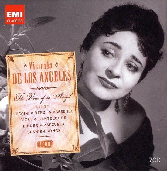 CD cover van Icon: Victoria De Los Angeles van Victoria de Los Angeles