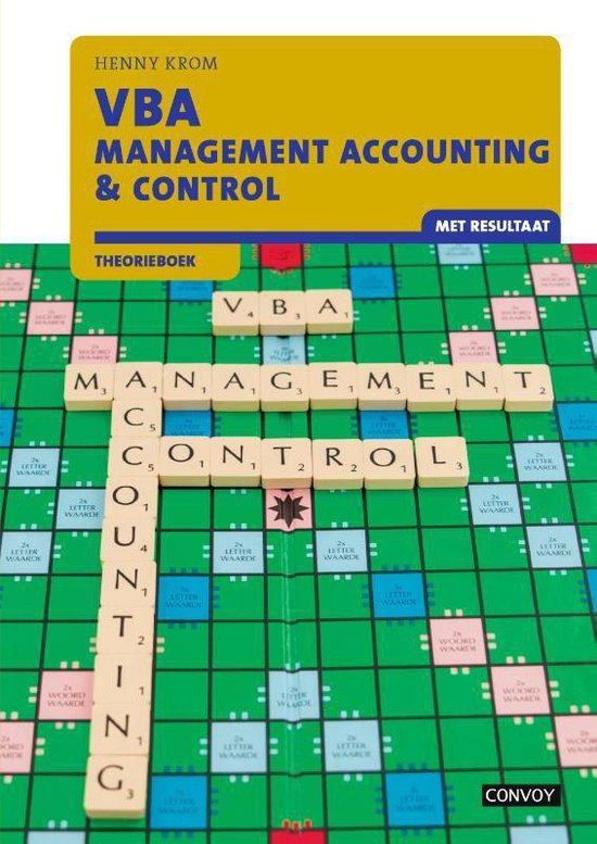 VBA Management Accounting & Control met resultaat Theorieboek - Henny Krom |